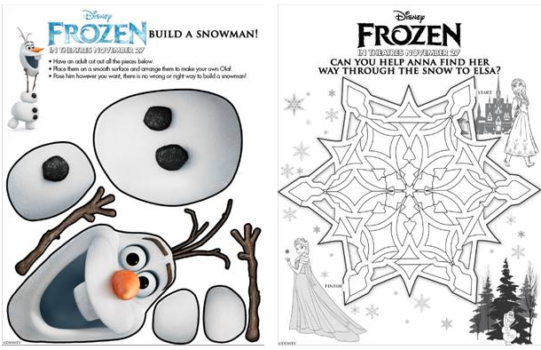 7 Best Images Of Free Disney Printable Activities