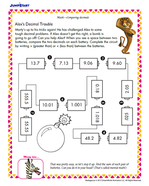 Printables. Fun 6th Grade Math Worksheets. Gozoneguide Thousands ...