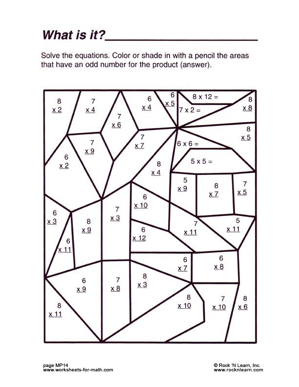 math worksheet : 5 best images of fun printable math worksheets  fun math  : Fun 5th Grade Math Worksheets