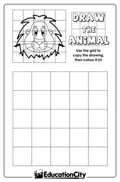 6 Images of Adult Printable Grid Drawing