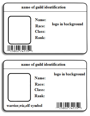7 best images of id name badge templates printable free for Id badge template free