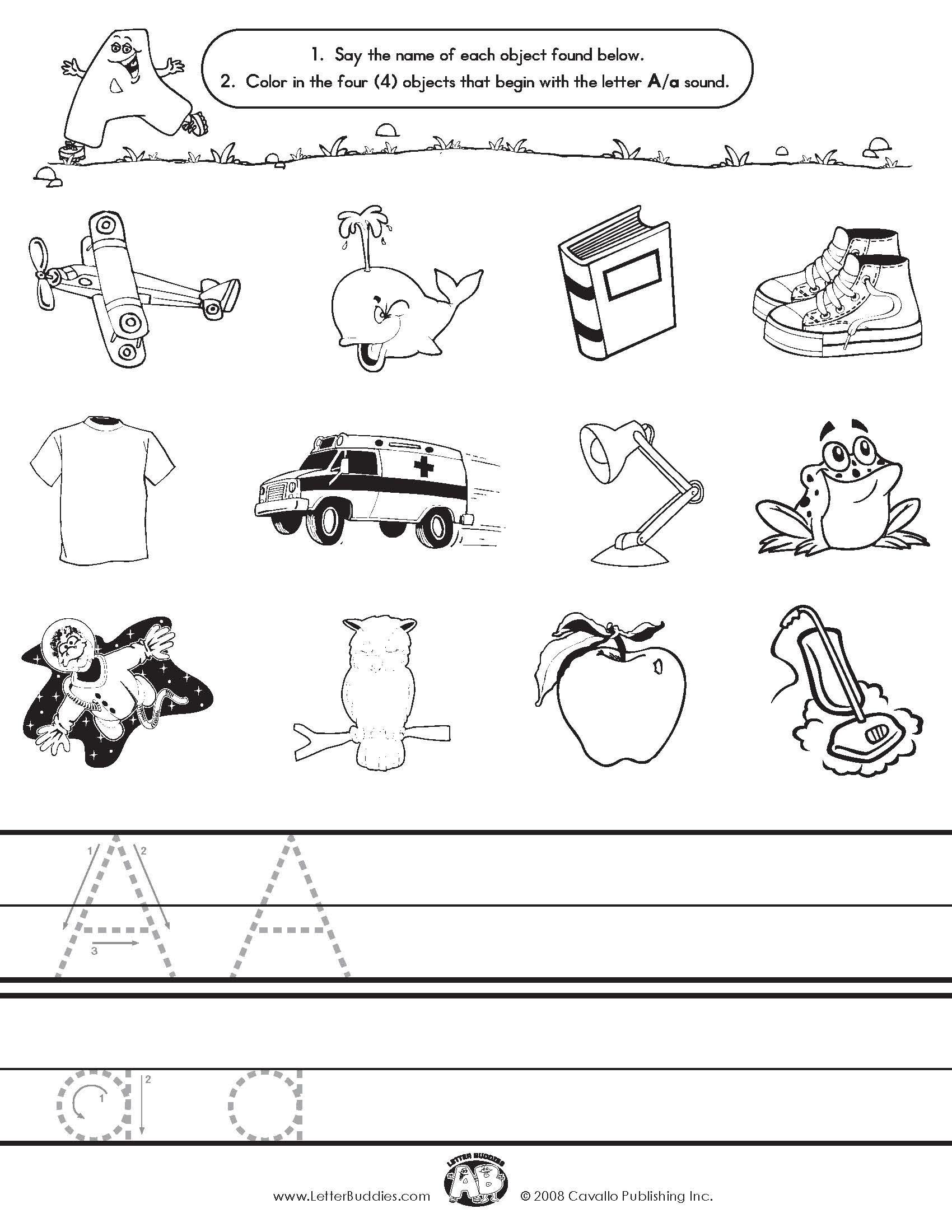 Alphabet Sound Worksheets : Best images of letter sound matching printables