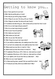 Printables Getting To Know You Worksheet For Adults 8 best images of getting to know you printables for adults kids worksheets