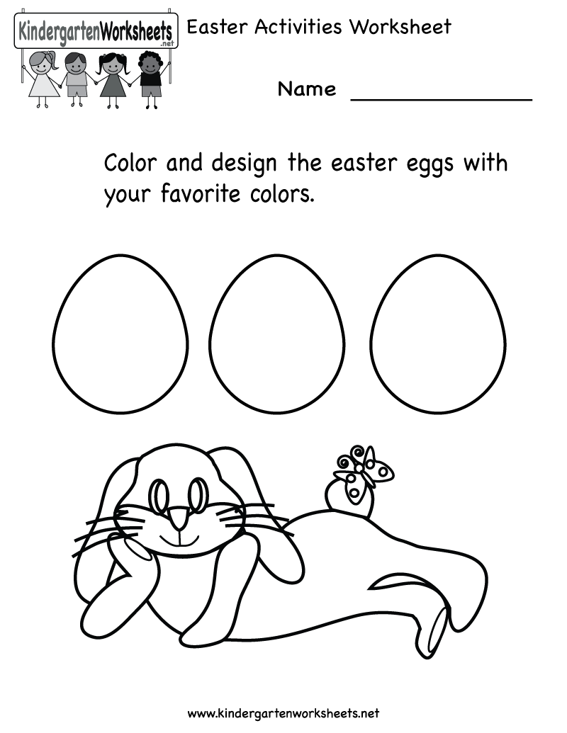 - 5 Best Images Of Free Printable Easter Activities For Kids