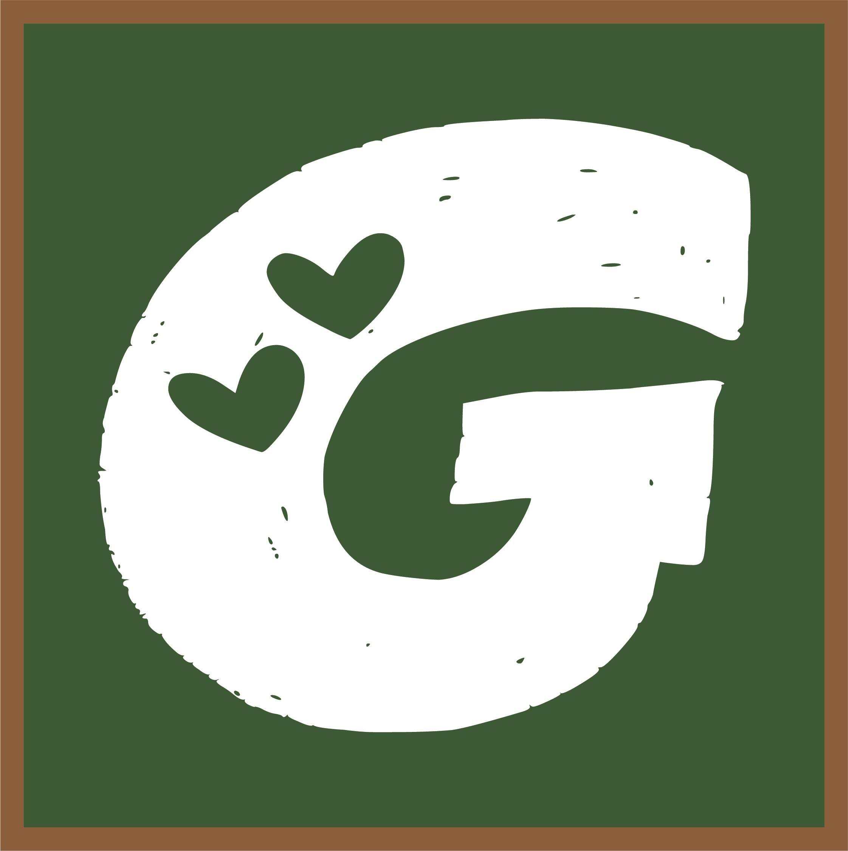 Letter G Heart