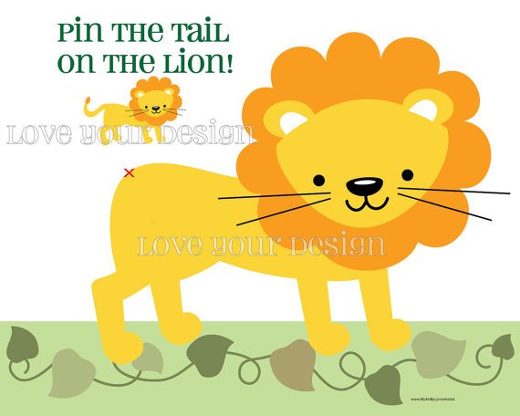 6 Images of Pin The Tail Printables