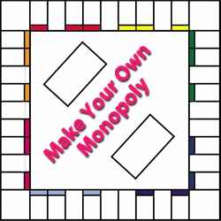 6 Best Images Of Printable Monopoly Board And Cards