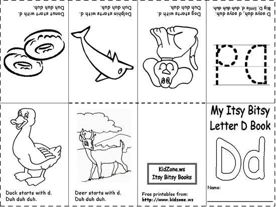 4 Images of Preschool Alphabet Books Printables