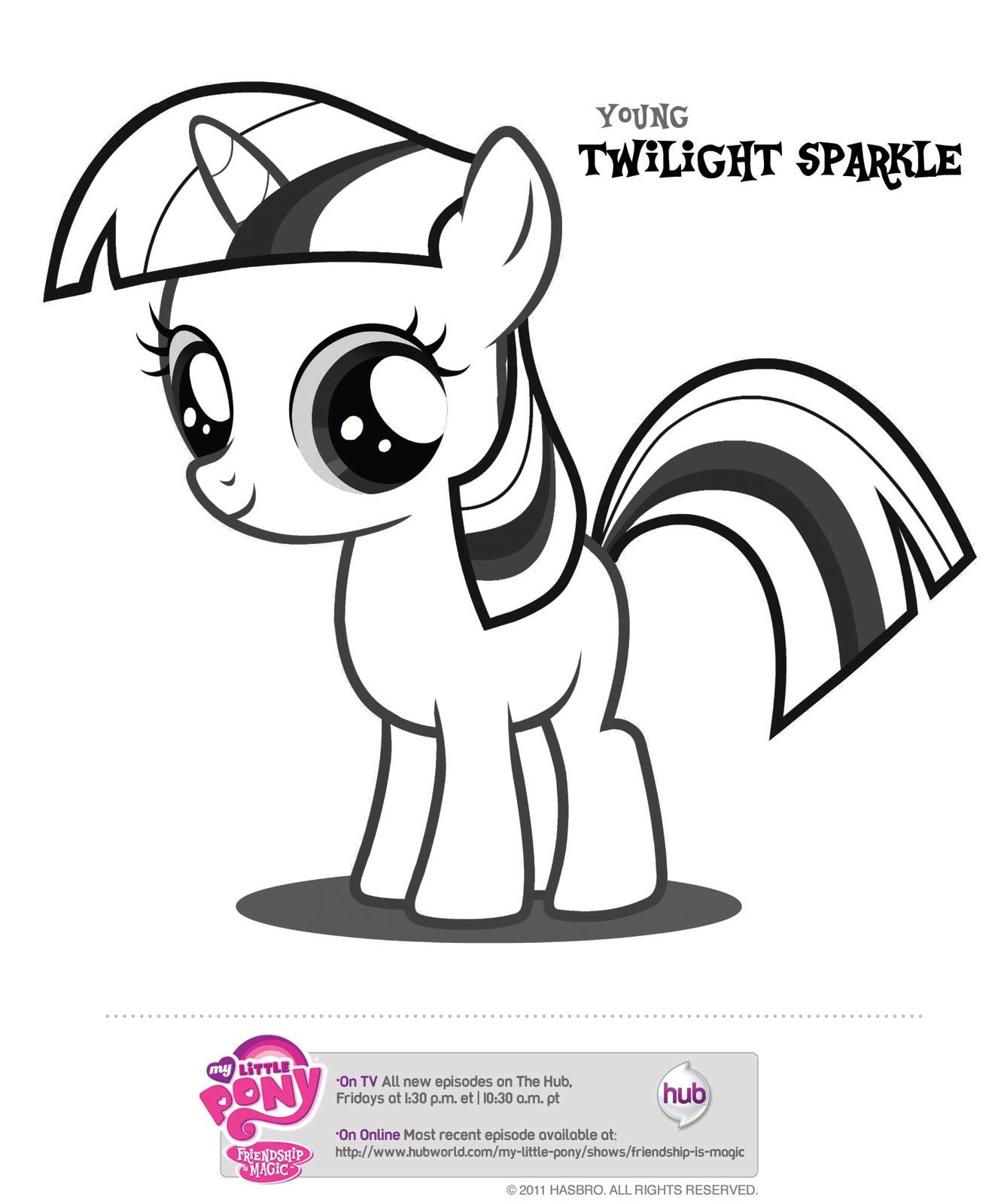 7 Images of Hub My Little Pony Printables