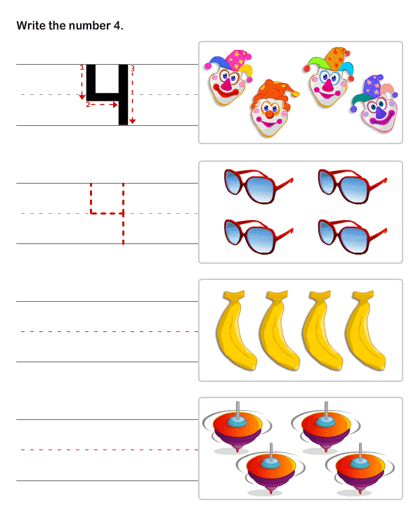 Number Names Worksheets prek worksheets Free Printable – Math Pre K Worksheets
