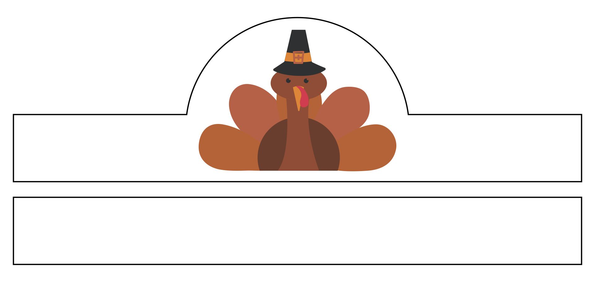 6 Best Images of Printable Preschool Thanksgiving Crafts ...