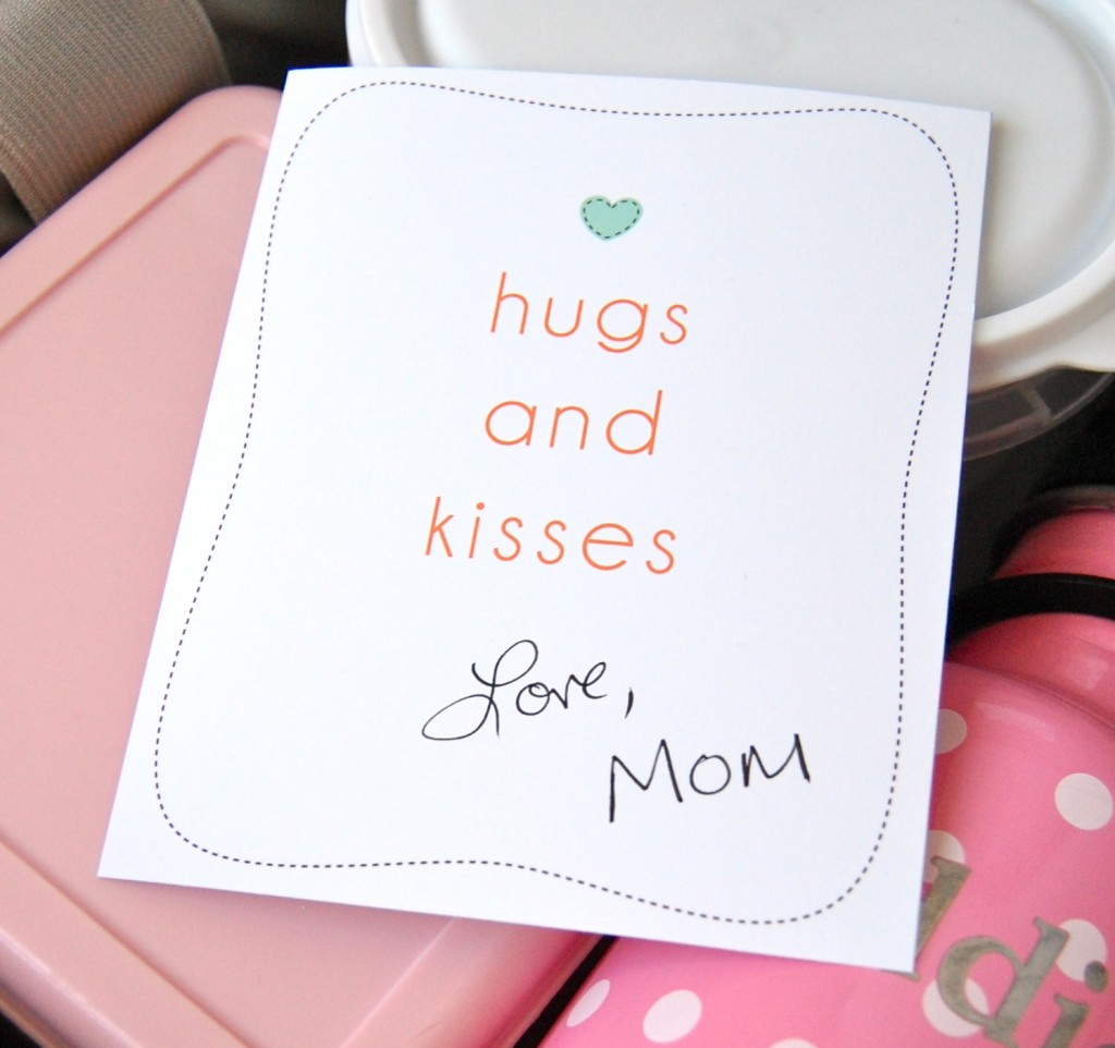 5 Images of Mom Notes Printables