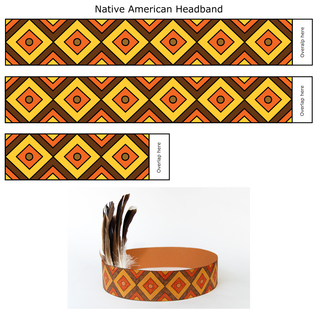 Printable Native American Crafts