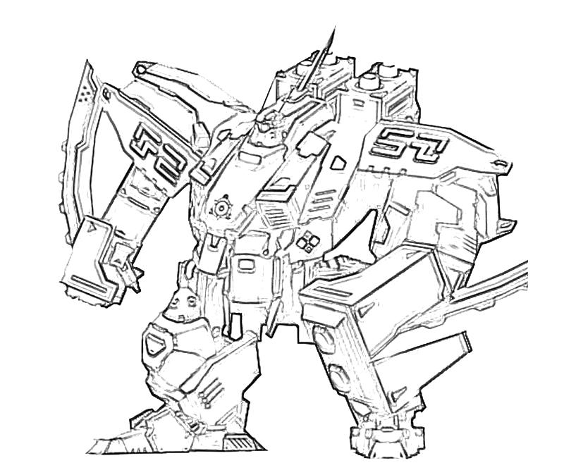 9 Images of Printable Robot Coloring Pages