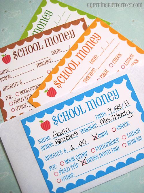 7 Images of School Money Printable