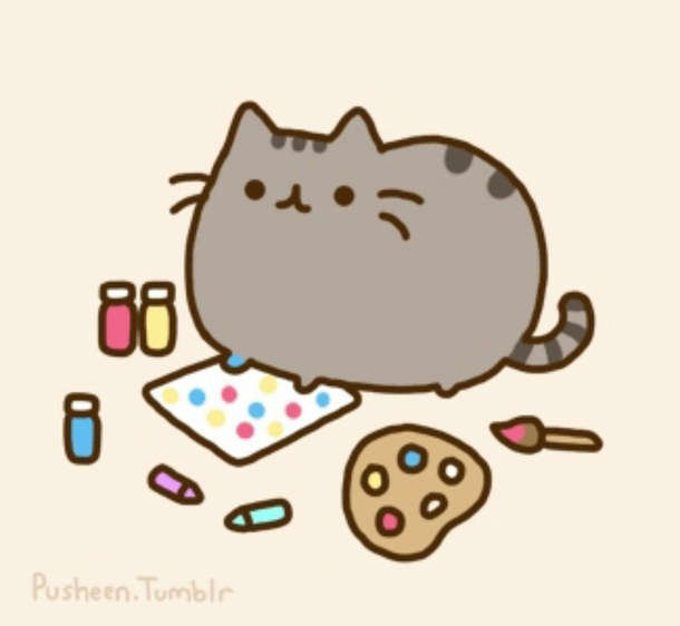 6 Images of Cute Kitten Printable Pics Pusheen