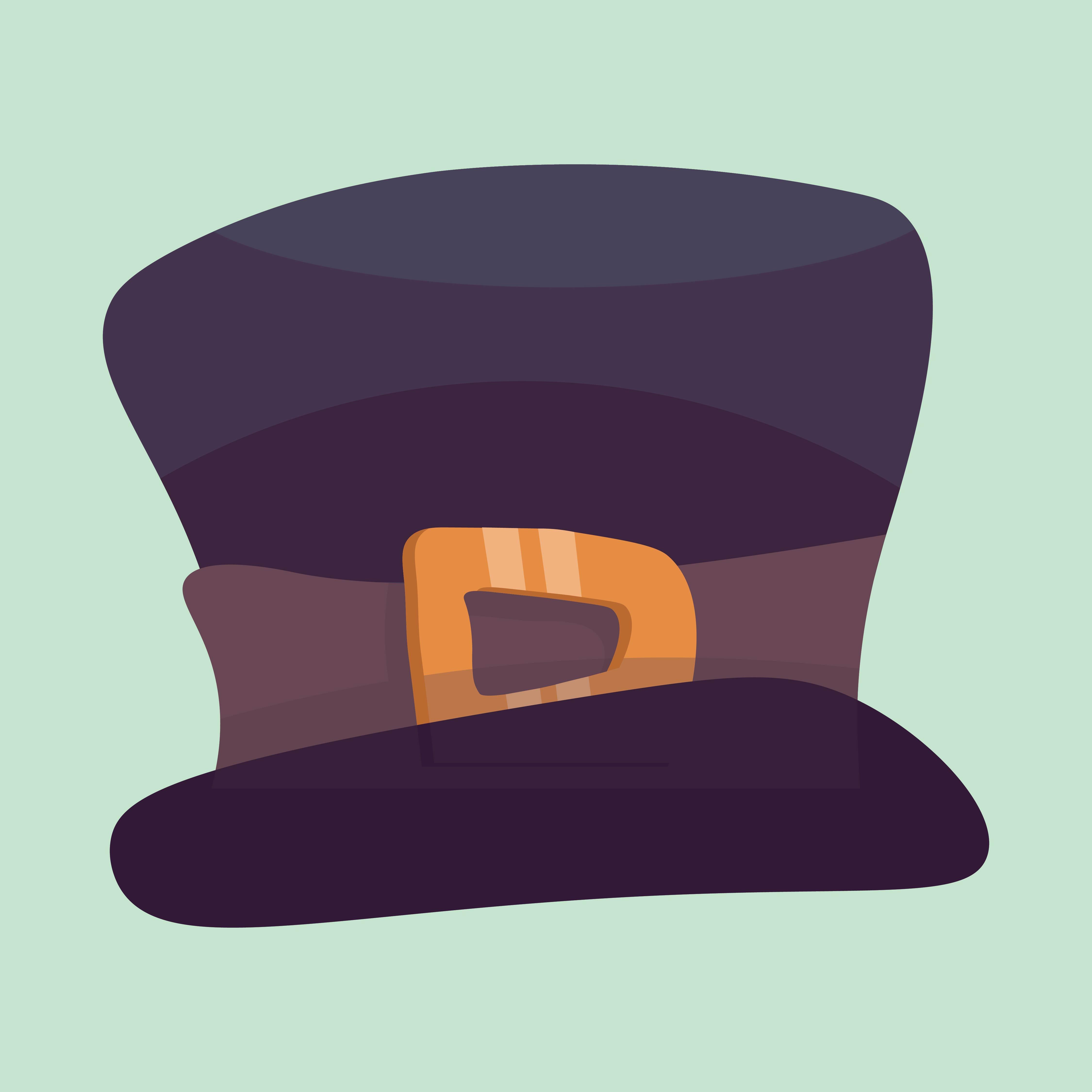 Snowman Top Hat Clip Art