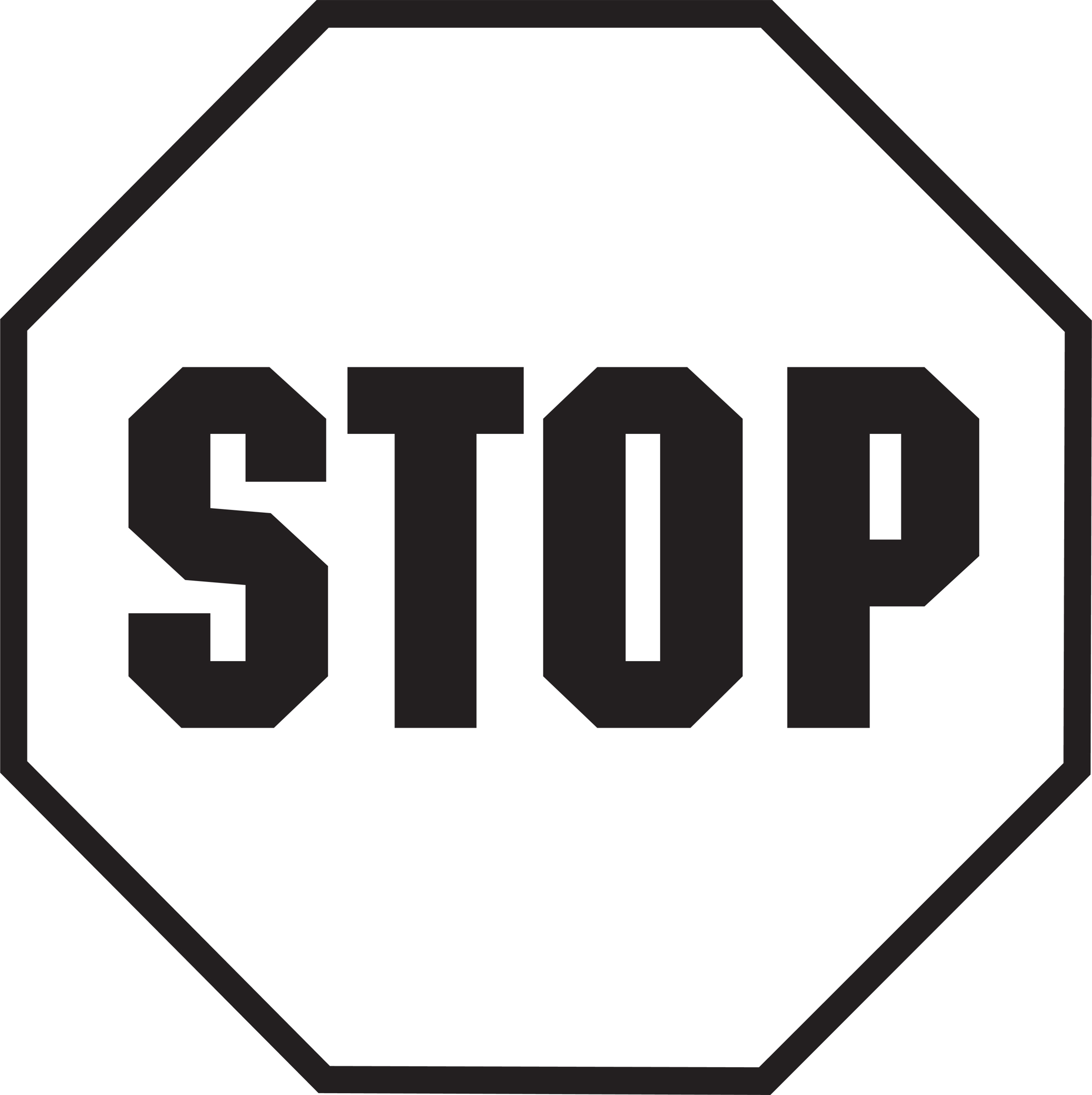 7 Images of Printable Stop Sign Clip Art