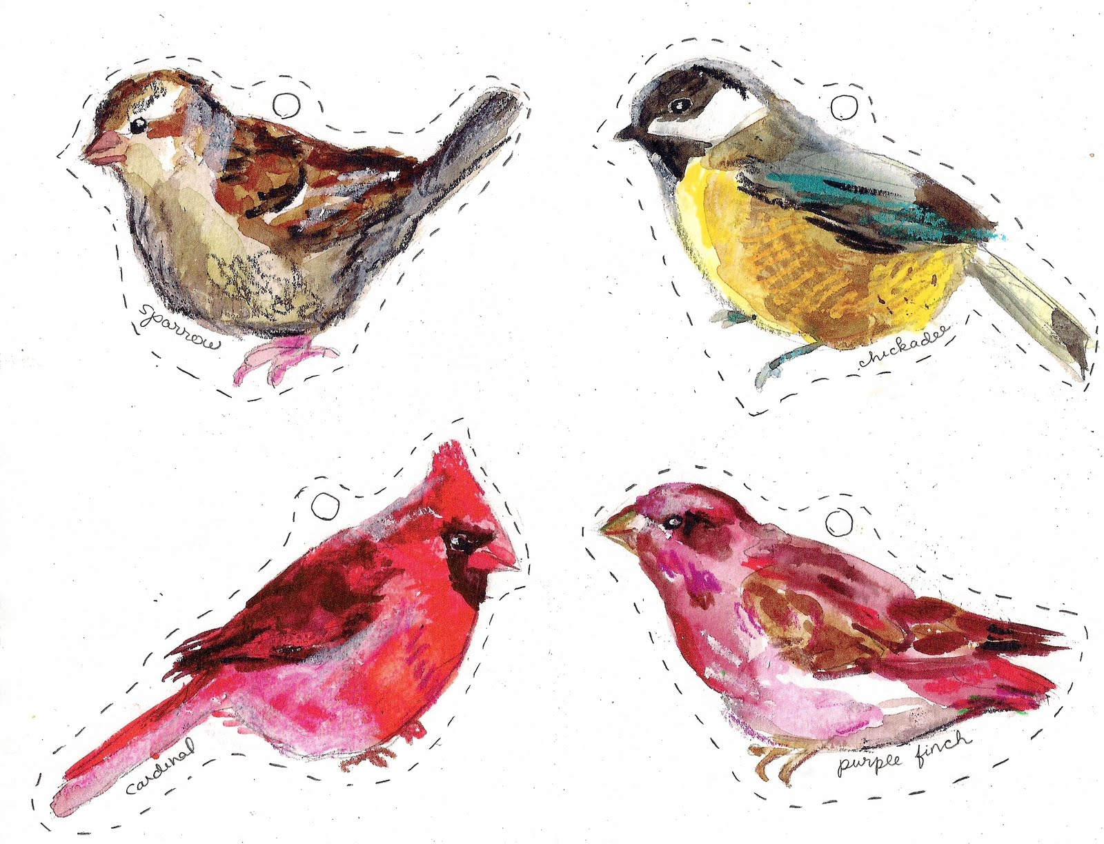 8 Images of Free Printable Pictures Of Birds