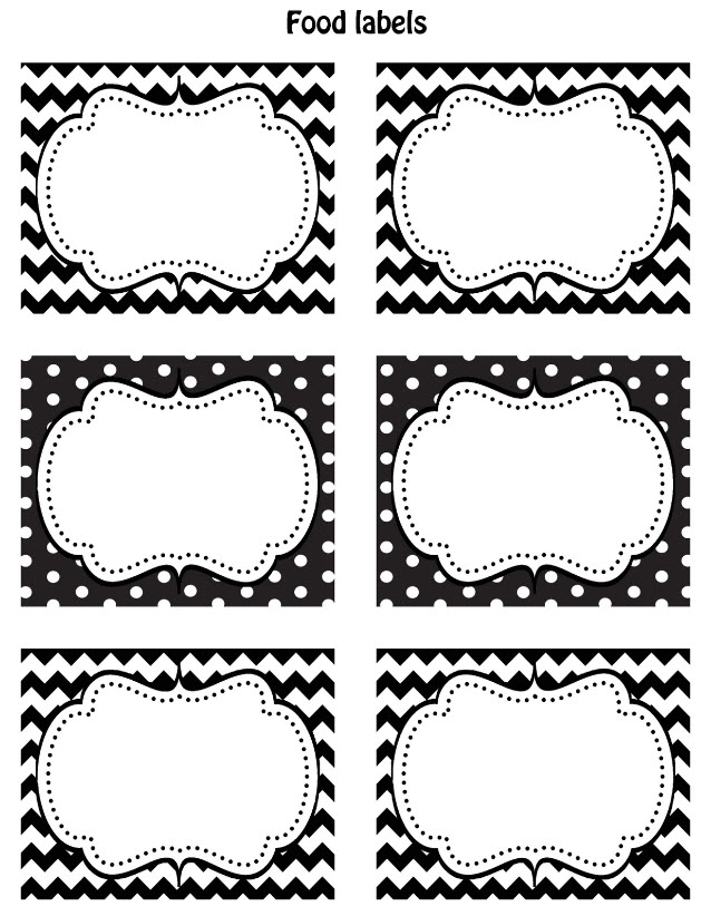 7 Images of Black And White Printable Christmas Name Tags