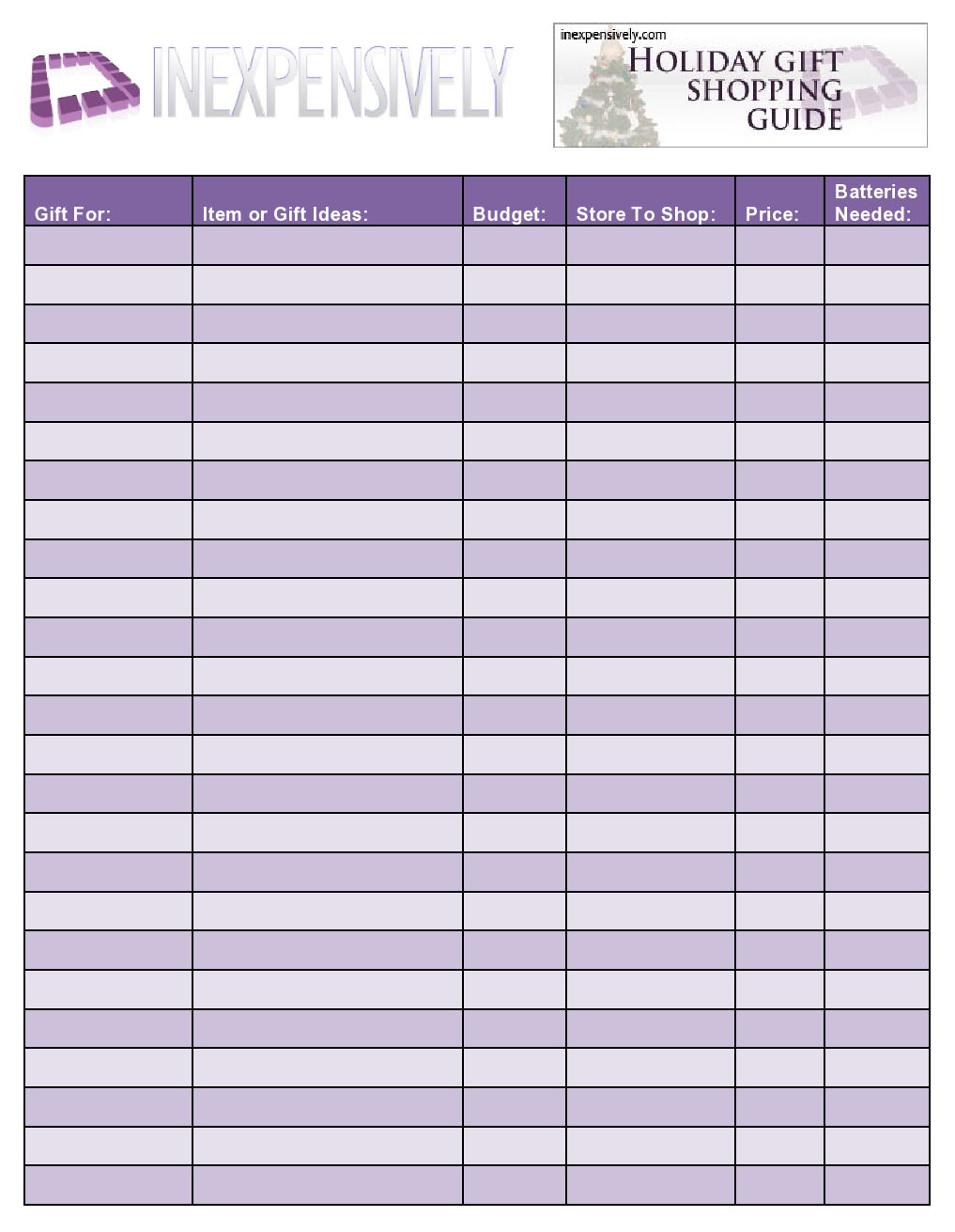 Grocery List Template Pdf Grocery List Template Pdf Printable – Grocery List Examples