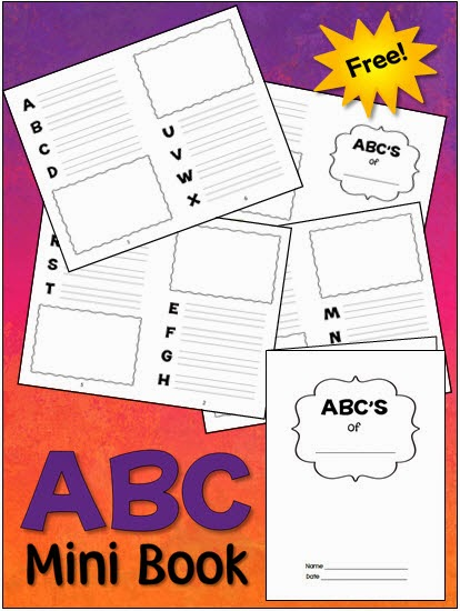 6 best images of booklets printable complete alphabet my for Printable alphabet book template