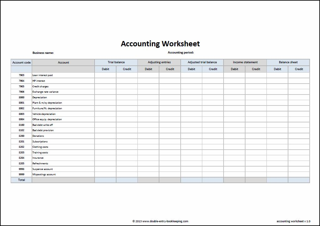 9 Best Images of Printable Accounting Journal Templates ...