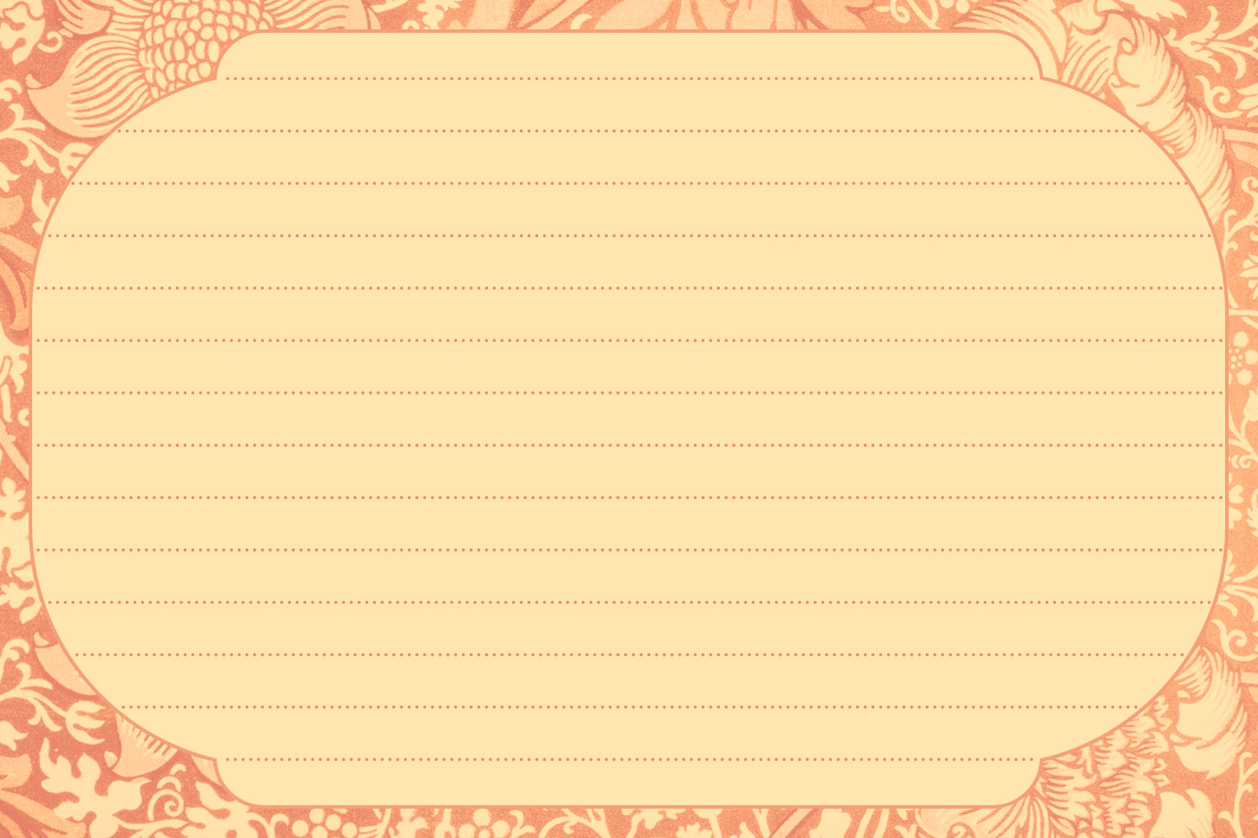 6 Images of Free Printable Blank Recipe Card Template