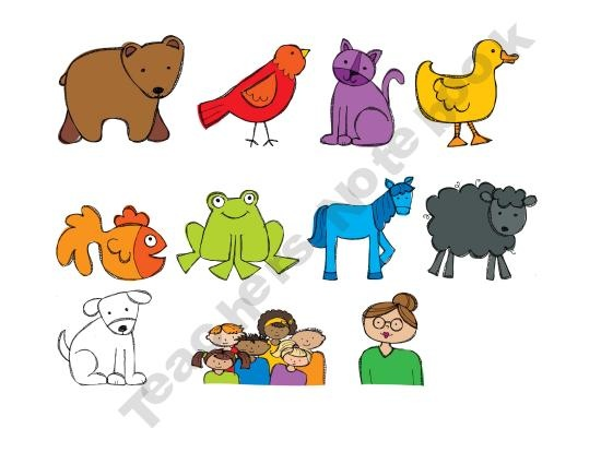 ... Puppets, Free Printable Brown Bear Book and Brown Bear Puppet