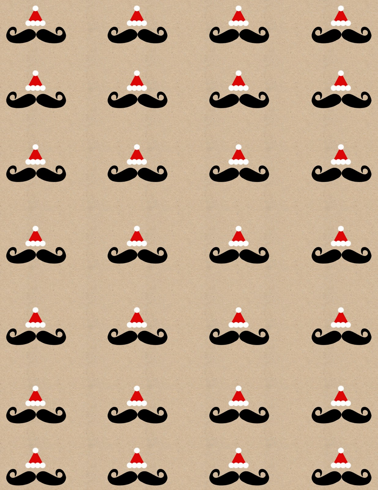 4 Images of Printable Wrapping Paper Sheets
