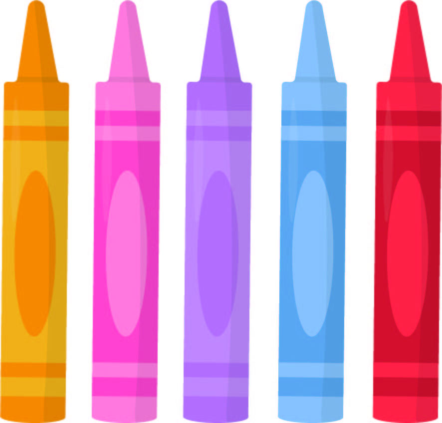 Color Crayon Template Printable