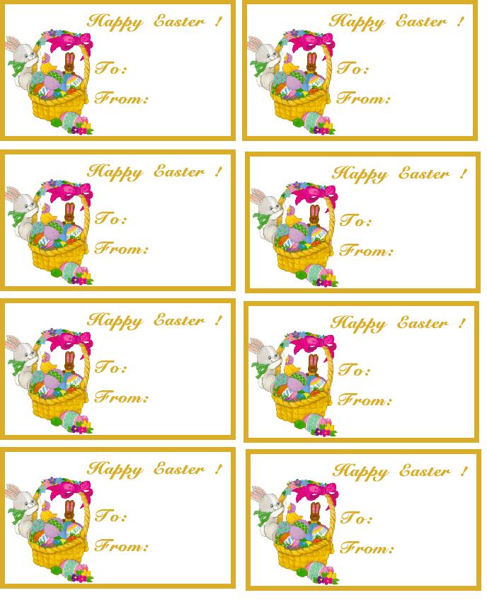 Free Editable Printable Labels Tags, Free Customizable Printable Gift ...