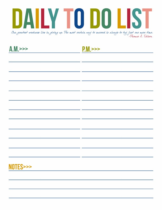 7 best images of daily to do list printable template printable daily planner to do list. Black Bedroom Furniture Sets. Home Design Ideas