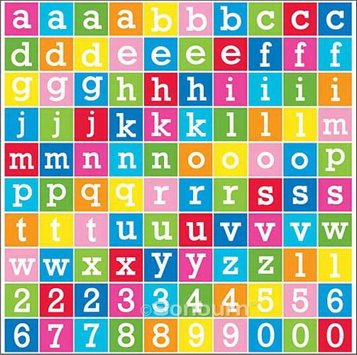 Free Printable Alphabet Stickers