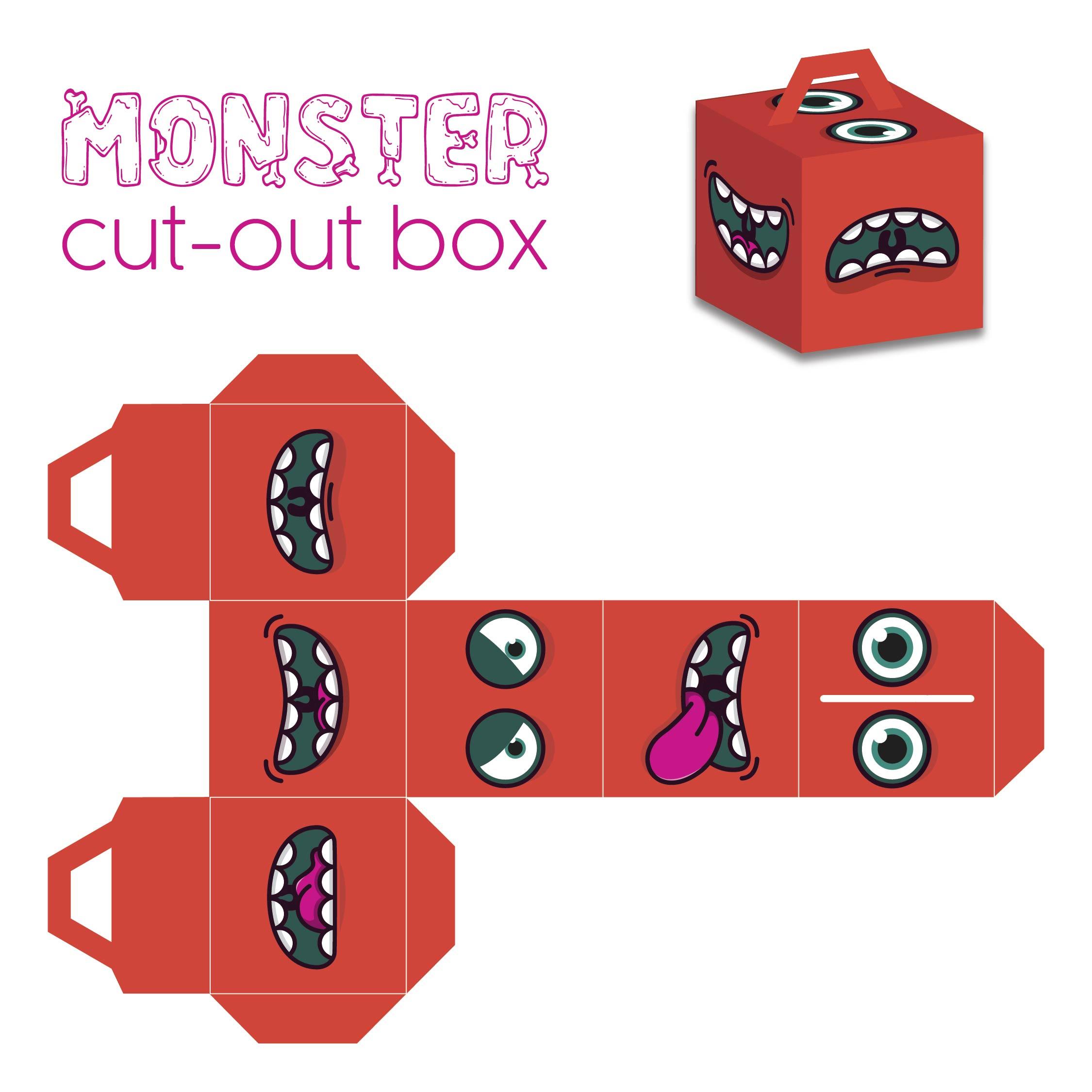 Free Printable Halloween Boxes