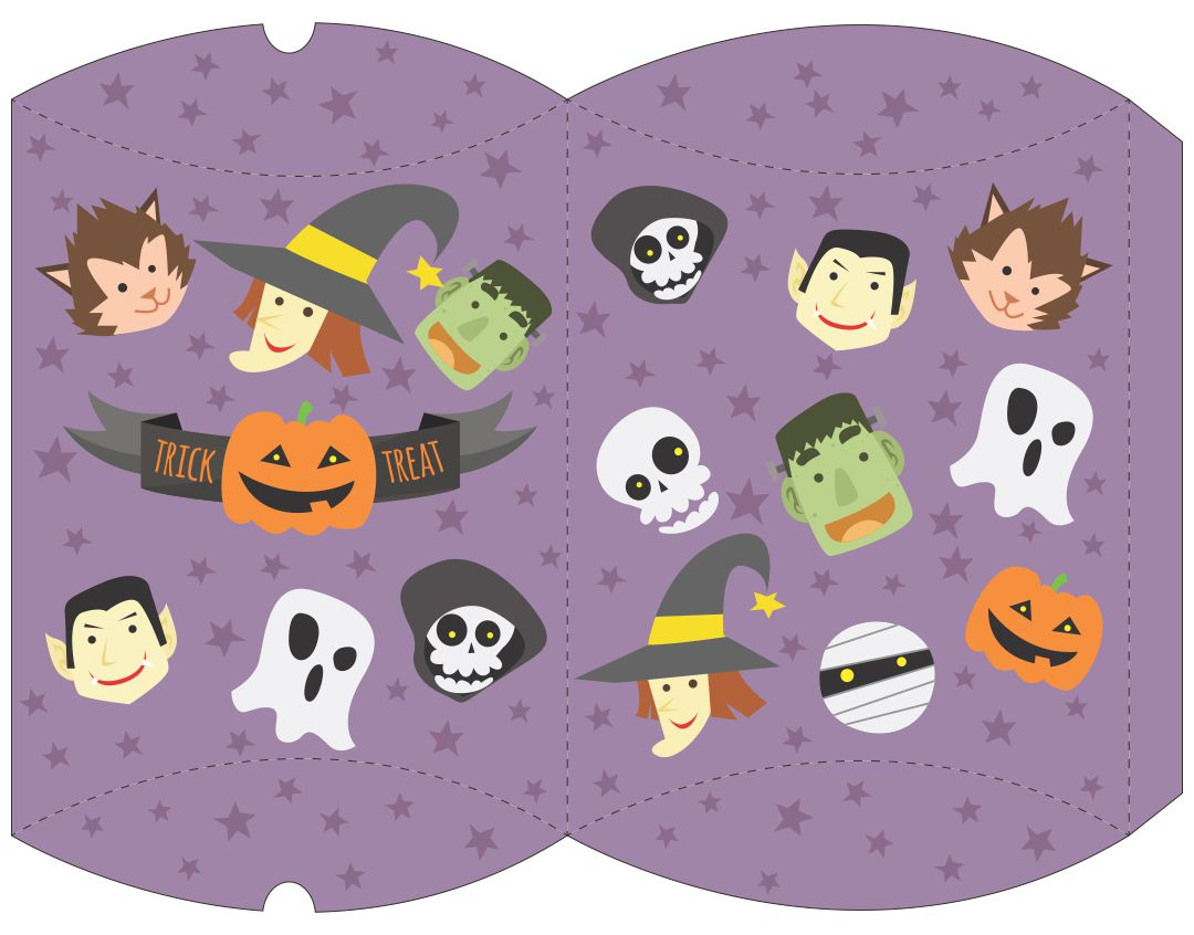 4 Images of Free Printable Halloween Bunting