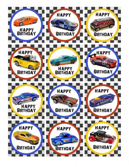 Free Printable Hot Wheels Birthday