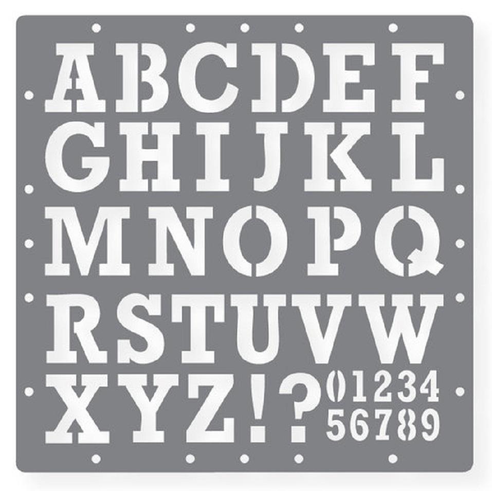 6 Images of Printable Symbols Stencil