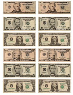 6 Images of Free Printable Of Money Bills