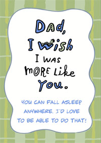 Funny Dad Birthday Card Sayings