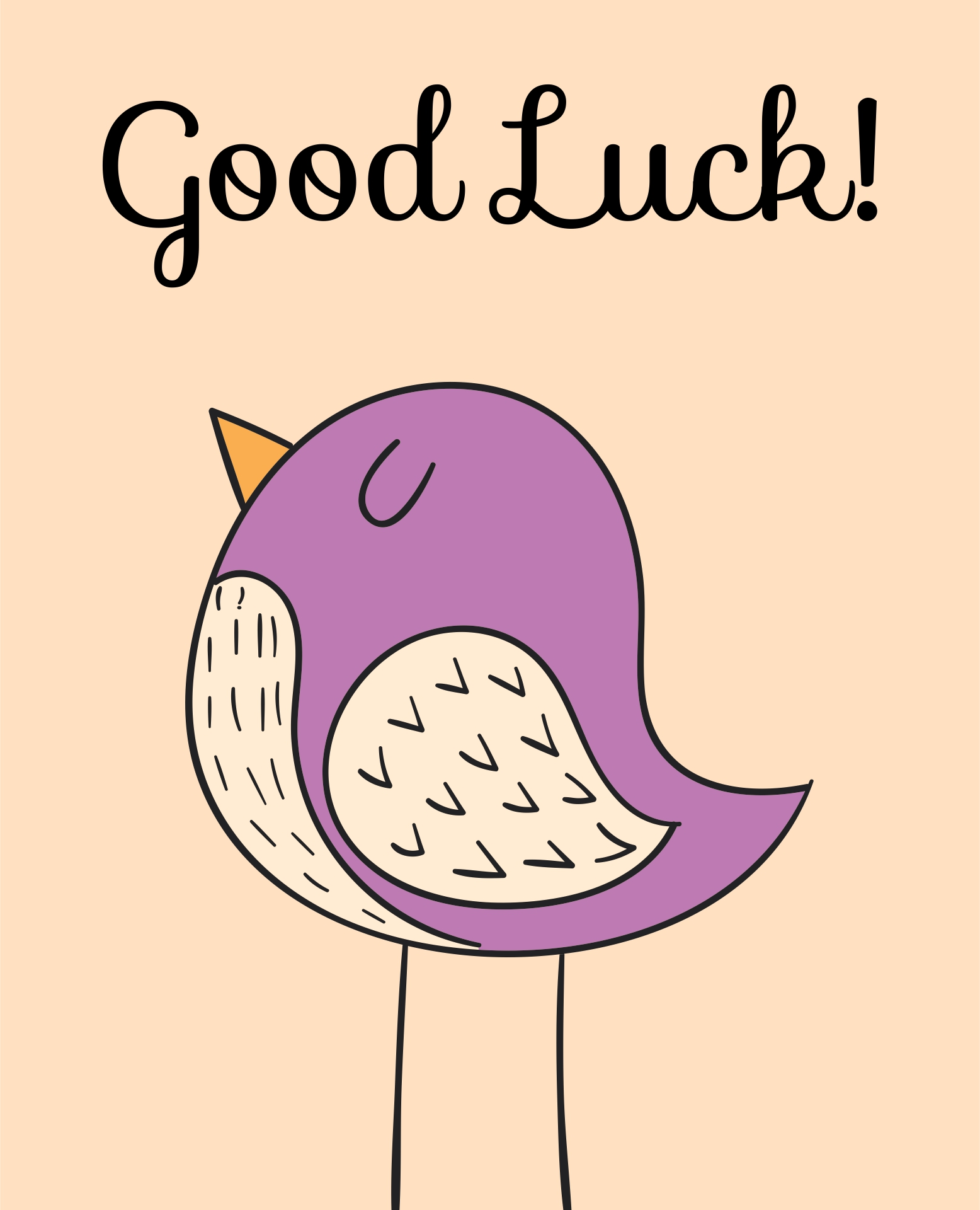 Good Luck Cards Printable Free