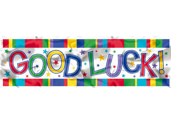 farewell banner template - 7 best images of good luck cake banner printable goodbye