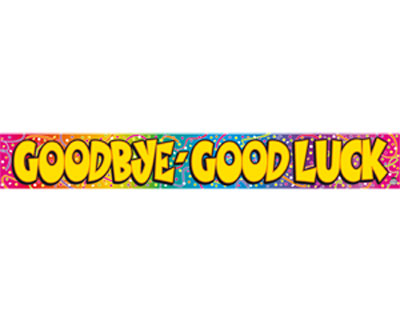 7 Images of Good Luck Cake Banner Printable