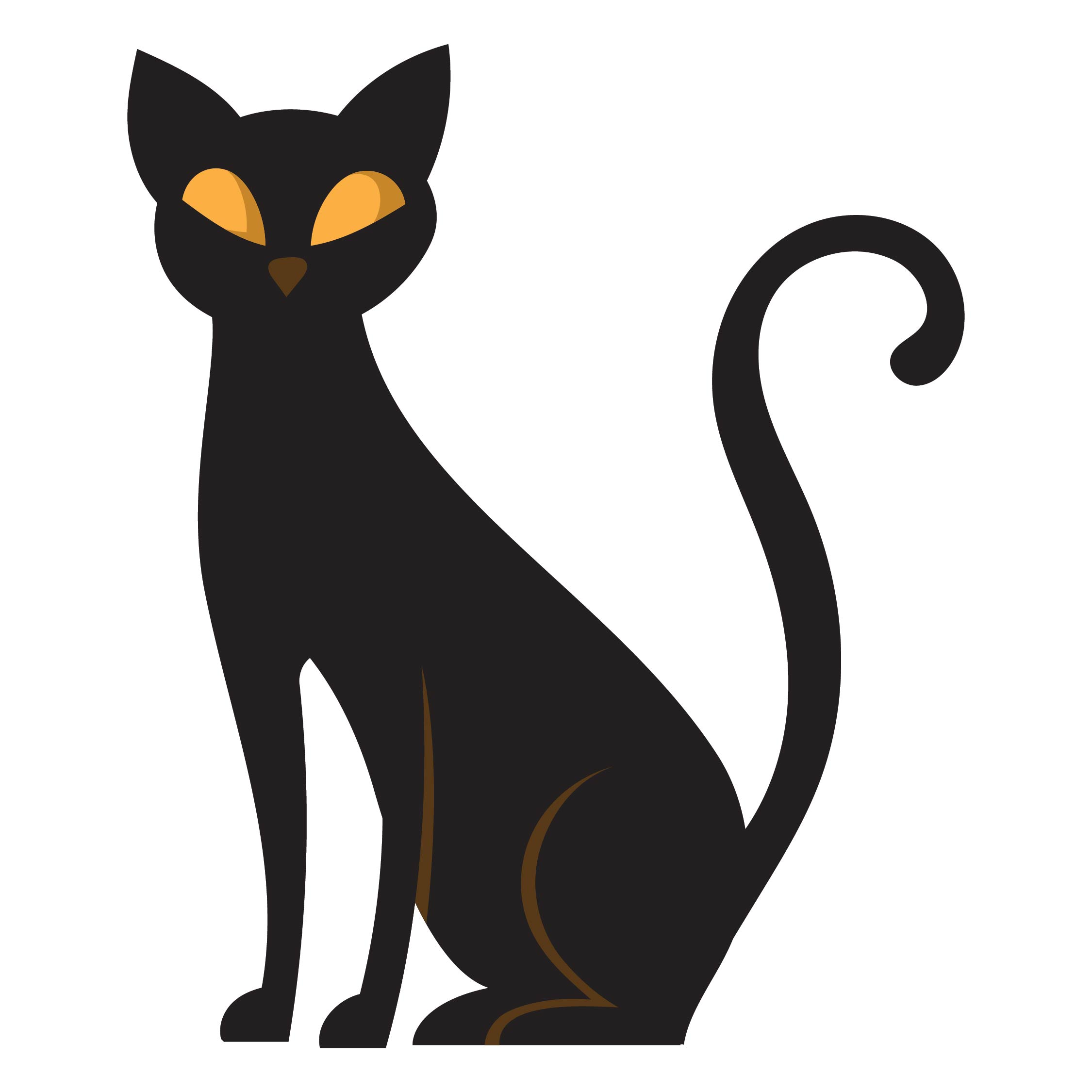 Halloween Cat Template Printable
