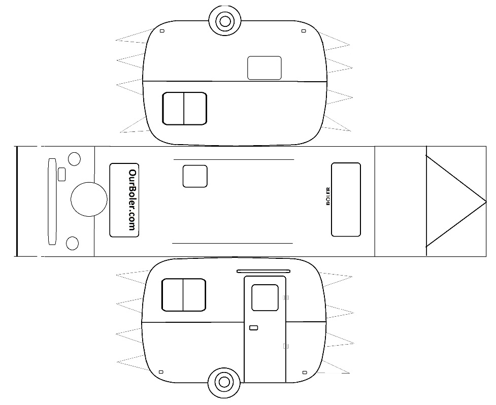 6 Best Images of Car Template Printable For Kids - Car ...