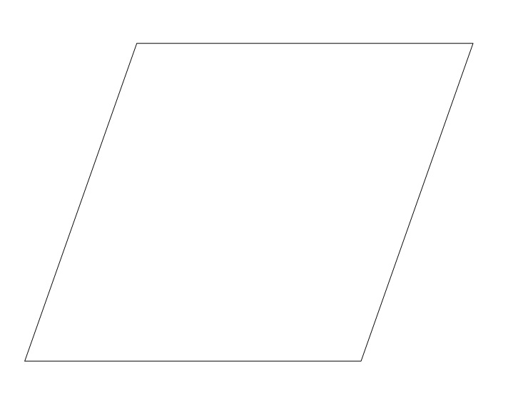 6 Images of Printable Parallelogram Shape