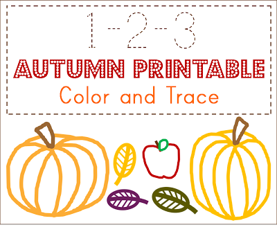 4 Images of Toddler Fall Printables