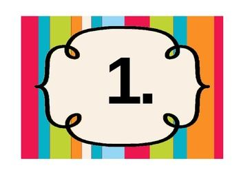 4 Images of Printable Number 52