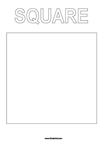 6 best images of square coloring pages printable square