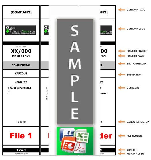 7 best images of large printable file folder label